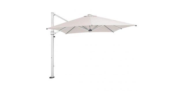 The Aurora Lightweight & Elegant Cantilever Umbrella - 2.8M SQ NATURAL