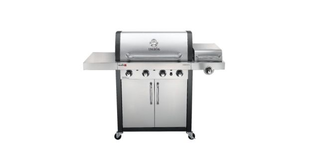 The Char-Broil® COMMERCIAL SERIES™ TRU-INFRARED™ 4-BURNER GAS GRILL