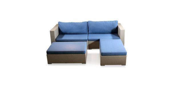 Alice Rattan Sofa Set