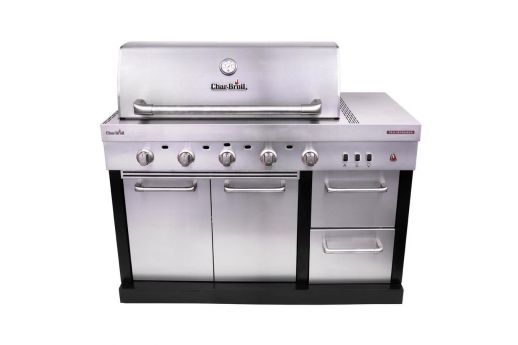 MEDALLION SERIES™ MODULAR OUTDOOR KITCHEN 5 BURNER TRU-INFRARED™ GAS GRILL