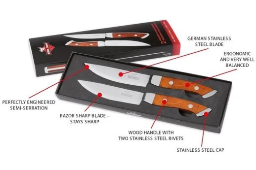 Lotus  Accessories-STEAK CHAMP KNIVES
