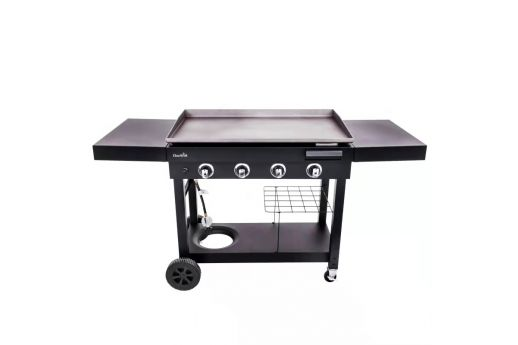 The Char-Broil® 4-BURNER GAS GRIDDLE