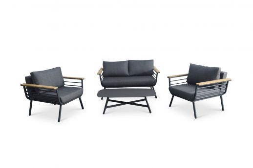 Archer 4 Seater Aluminum Sofa Set