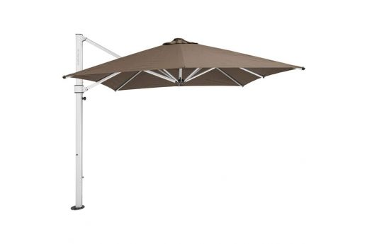 The Aurora Lightweight & Elegant Cantilever Umbrella - 2.8M SQ SLATE