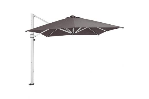 The Aurora Lightweight & Elegant Cantilever Umbrella - 2.8M SQ SMOKED TWEED