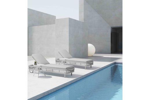 Clun Sun-lounger Set