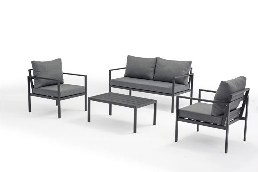 Jacob 4 Seater Aluminum Sofa Set