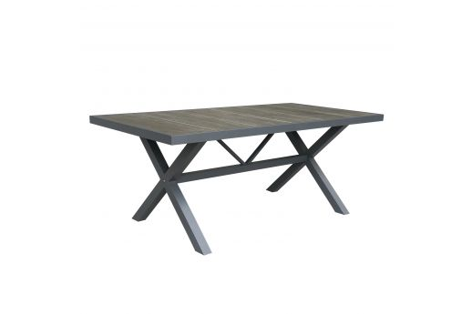 Barton  Aluminum Dining Table--S