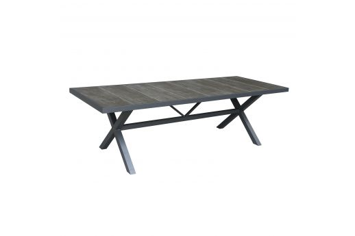 Barton  Aluminum Dining Table--L