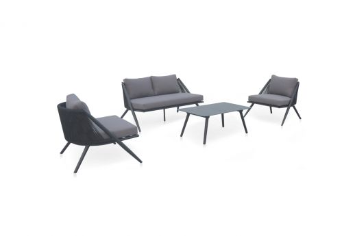 Santino Aluminum 4 Seater Sofa Set