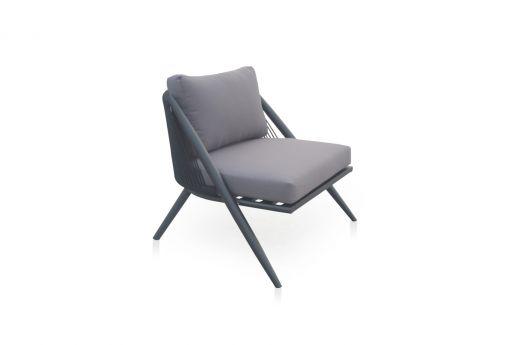 Santino Aluminum 1-Seater Sofa
