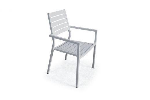 Nova Aluminum Arm Chair