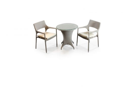 Pim 2 Seater Bistro Set