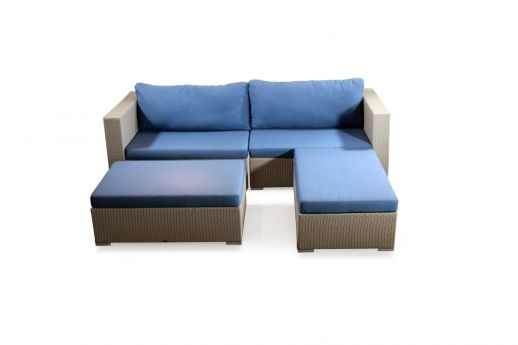 Alice Rattan Sofa Set